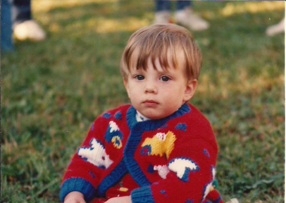 Matt at 18 months