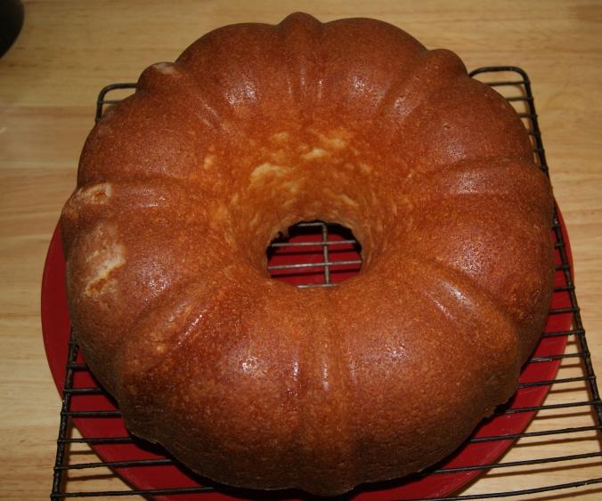 Lemon Buttermilk Cake.I will NEVER be thin.