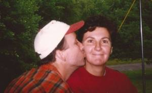 My honey and I, back in the day.