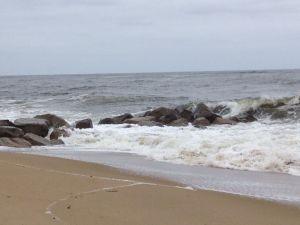 A winter day on the Massachusetts coast.