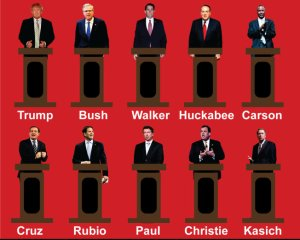 Is it Barnum & Bailey's?   No!  Its the GOP on stage!!!