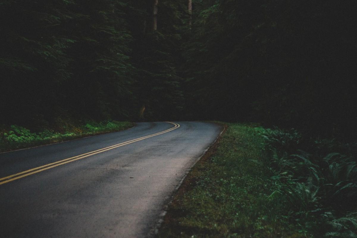 street_road_night_dark_asphalt_traffic_travel_transport-695853